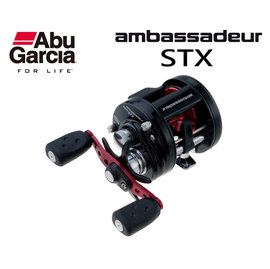 ◎百有釣具◎ABU Ambassadeur STX 鼓式捲線器 規格:AMBSTX-6600/AMBSTX-6601 高品質入門捲線器 拋投順暢 美觀又耐用