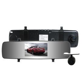 攝錄王 Z5D Super 1296P 雙鏡頭 後視鏡行車紀錄器