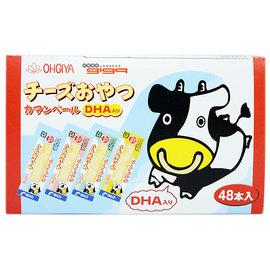 【吉嘉食品】OHGYA扇屋 DNA起司條/卡芒貝爾起士條 1盒48入230元,日本進口{4970765135681:1}