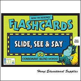 ~Slide See and Say Flashcards 系列~50 Consonant