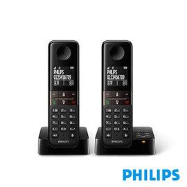 ^( 品^)PHILIPS飛利浦子母雙機無線電話D4552B