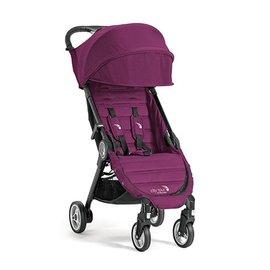 【紫貝殼】『GB12-1』baby jogger city tour 單人手推車《C形旋風收折 輕量旅行車》(紫) 隨車附贈同色收納背袋