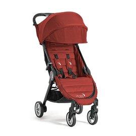 【紫貝殼】『GB12-2』baby jogger city tour 單人手推車《C形旋風收折 輕量旅行車》(紅) 隨車附贈同色收納背袋
