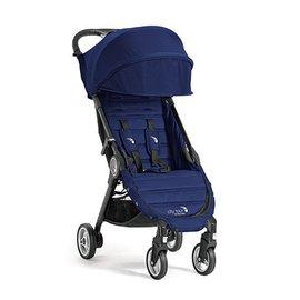 【紫貝殼】『GB12-3』baby jogger city tour 單人手推車《C形旋風收折 輕量旅行車》(藍) 隨車附贈同色收納背袋