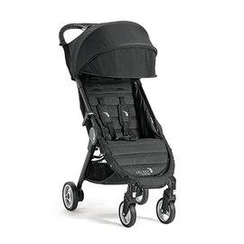 【紫貝殼】『GB12-4』baby jogger city tour 單人手推車《C形旋風收折 輕量旅行車》(黑) 隨車附贈同色收納背袋