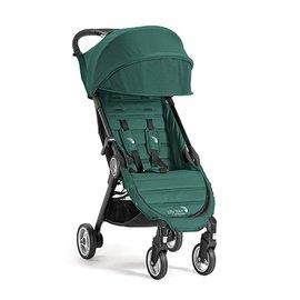 【紫貝殼】『GB12-5』baby jogger city tour 單人手推車《C形旋風收折 輕量旅行車》(綠 隨車附贈同色收納背袋