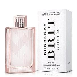 BURBERRY 粉紅風格女性淡香水 100ml Tester環保包裝《Belle倍莉小舖》