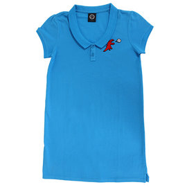 ~Omagic~agnes b.SPORT b.系列紅色恐龍 長版短袖T~1^(藍^) 1