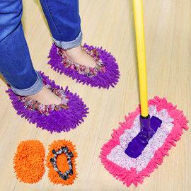~ 拖把鞋套~拖把套 超細纖維 清潔用品 除塵套 防塵套 NM~9763 ^~ 通^~