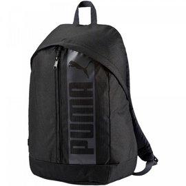 PUMA 休閒 運動 雙肩 後背包-黑 074115-01