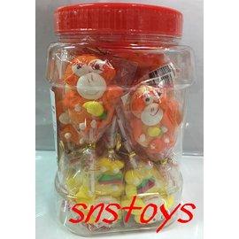 sns 古早味 棒棒糖 棒棒糖 猴棒棒糖 糖花棒棒糖 聖誕棒棒糖 60支 聖誕節 可愛糖果