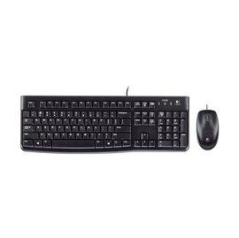 ~迪特軍3C~Logitech 羅技 貨 滑鼠鍵盤組 MK120 有線連線 簡單便捷
