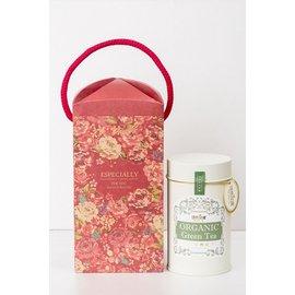有機茶 通過歐盟Organic EU、USDA、JAS、加拿大有機  熱帶玫瑰 有機綠茶