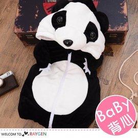 卡通立體熊貓造型兒童馬甲背心 外套【HH婦幼館】