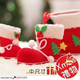 XMAS裝飾聖誕掛飾糖果靴 禮物袋 中尺寸【HH婦幼館】