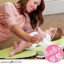 旅行外出便攜式寶寶折疊尿布包 隔尿墊【HH婦幼館】
