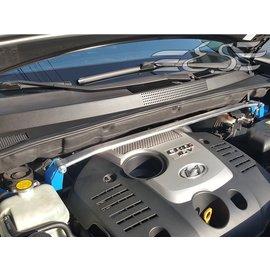 阿宏改裝部品 E.SPRING HYUNDAI TUCSON 鋁合金 引擎室拉桿