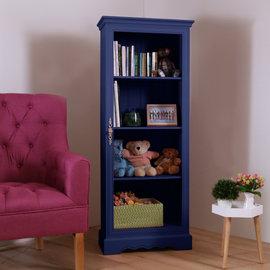 ~Ailiwu愛麗屋~H ton安琪拉書櫃 ^(深藍色^) ~ 置物櫃 展示櫃 客廳櫃 書
