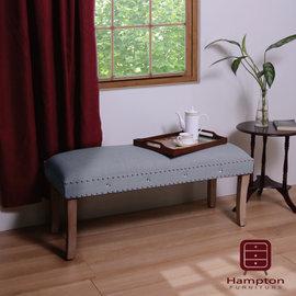 ~Ailiwu愛麗屋~H ton亞維斯長椅  鐵灰  ~ 長凳 客廳椅 床尾椅 沙發椅 休