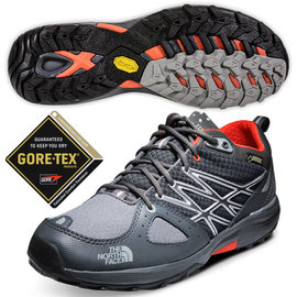 【美國 The North Face】ULTRA FASTPACK 男款Gore-Tex防水透氣低筒輕量登山鞋.越野鞋.健行鞋_ CCE3 鋅灰 DV