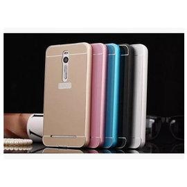 華碩ASUS zenfone2 laser 5吋 (ZE500KL) 金屬邊框/背殼/手機保護殼/保護套 **金屬邊框+壓克力背殼** [ABO-00070]