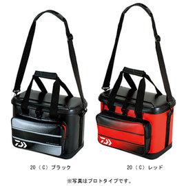 ◎百有釣具◎ DAIWA   semihard cool bag 28 (C) 軟式冰箱 軟冰 28公升  黑色