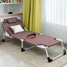 折疊床單人床午睡床辦公室躺椅午休床簡易陪護床行軍床睡椅 酷咖 旗艦店