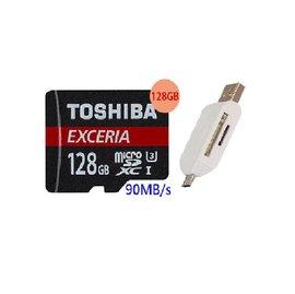 ~送T05~TOSHIBA 128GB 128G microSDXC~90MB s~EXC