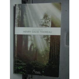~書寶 書T5╱原文書_LDF~Henry David Thoreau_Knopf pub