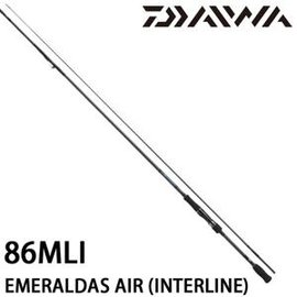 ◎百有釣具◎DAIWA EMERALDAS AIR (INTERLINE MODEL) 中通軟絲竿 規格:86MLI(957847)