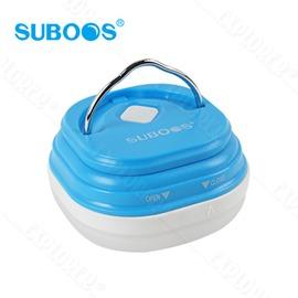 探險家戶外用品㊣8510~A3B SUBOOS薩博斯 150流明五段式帳篷小燈^(藍^)