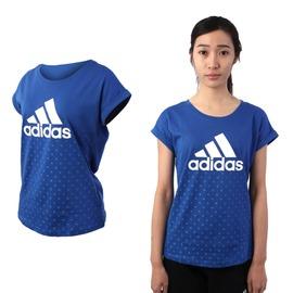 ADIDAS 女短袖上衣(短T T恤 愛迪達 慢跑 路跑【03312330】≡排汗專家≡