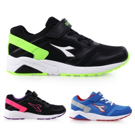 DIADORA 男女大童流行跑鞋(慢跑 路跑 寬楦 童鞋【02016127】≡排汗專家≡