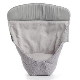 『BA04-8』【總代理公司貨】2016 最新款 美國 Ergo Baby ergobaby 爾哥寶寶背巾心型嬰兒保護毯/愛心保護毯【透氣款-無安全帶/灰色】