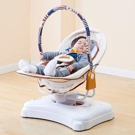 嬰兒搖籃電動搖椅寶寶搖搖椅嬰兒床搖床帶蚊帳新生兒寶寶床兒童潮電3C館TW 韓風館