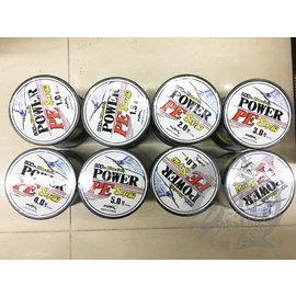 ◎百有釣具◎太平洋POKEE POWER PE 8本編PE線 500米 規格:1.0/1.5/2.0/3.0/4.0/5.0/6.0/8.0