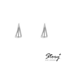 ~ SilverFly銀火蟲銀飾 ~STORY~鏤空三角形~純銀耳環