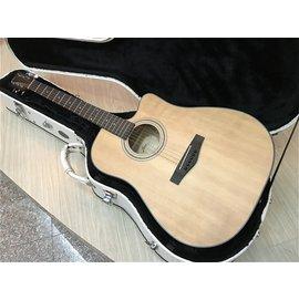 ~彈心琴園樂器館~FINA FD~802cs D桶缺角單板雲杉木吉他#免 0利率