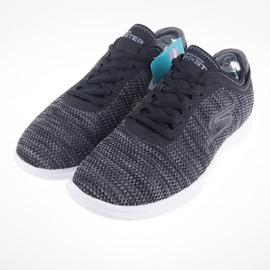 Skechers  (女) 健走系列 GO STEP 健走鞋 -黑 14347BKGY