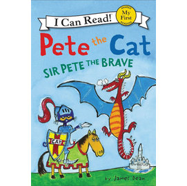 〈An I Can Read系列:My First 〉PETE CAT: SIR PETE