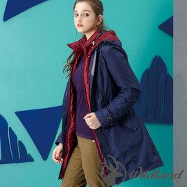 ~Wildland 荒野~女 長版防水 外套防寒夾克 輕量透氣外套 禦寒衣~滿額送好禮~