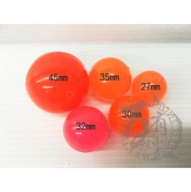 ◎百有釣具◎ 彈力球 27mm / 30mm 此為單顆價格 顏色以出貨為主