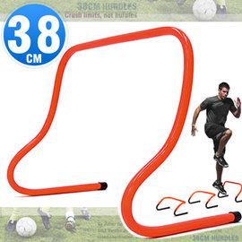 38CM速度跨欄訓練小欄架D062-MK852D一體成形高低梯.棒球障礙跳格欄.體適能步頻教材.籃球靈敏跳欄.足球敏捷田徑多功能架子.運動健身器材