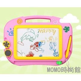大號兒童畫畫板磁性彩色寫字板寶寶小黑板涂鴉板玩具塑料益智畫板locn Dudubobo