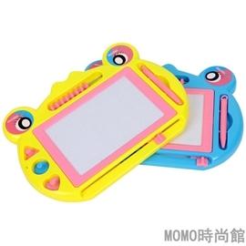 多 帶算盤青蛙可愛畫板兒童益智玩具磁性寫字板畫板系小號locn Dudubobo