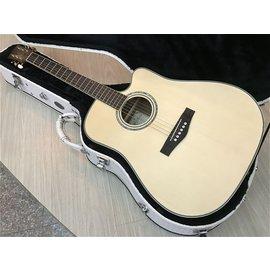 ~彈心琴園樂器館~ FINA FD~28CM非洲胡桃木全單板木吉他^(2017年全 示^)