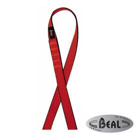 【法國 Beal】FLAT SLING 縫合扁帶環(寬18mm/長60cm)繩環.扁繩/登山.攀岩專用_SA60 紅