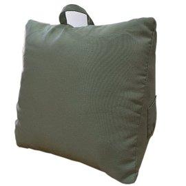 叢林森巴^~粉綠_三角大靠墊~58^~58^~28cm^~1入 床頭靠枕 腰靠枕 抬腿枕