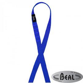 【法國 Beal】FLAT SLING 縫合扁帶環(寬18mm/長80cm)繩環.扁繩/登山.攀岩專用_SA80 藍