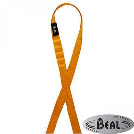 【法國 Beal】FLAT SLING 縫合扁帶環(寬18mm/長120cm)繩環.扁繩/登山.攀岩專用_SA120 橘